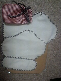夜用の布ナプ届きました
